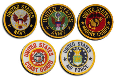 United States - Army, Navy, Air Force, Marine Corps, Coast Guard