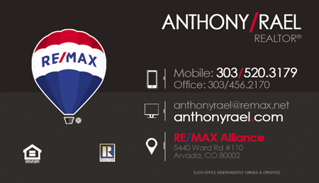 Experiened Honest & Trustworthy REMAX Denver Colorado Real Estate Agents & Relocation Experts : Homes for Sale in Arvada, Aurora, Brighton, Boulder, Broomfield, Erie, Evergreen, Golden, Highlands Ranch, Lakewood, Littleton, Parker, Thornton, Westminster : #JustCallAnts Anthony Rael, Denver Colorado REMAX Realtors