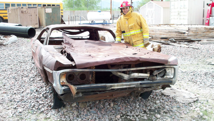 Arvada Fire Department : Citizens Fire Academy : Anthony Rael