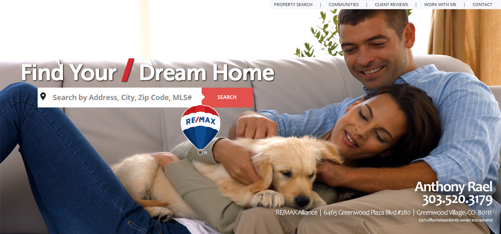 Find Your Dream Home with REMAX in Colorado : Denver Colorado Homes For Sale : Denver MLS Property Listings : #JustCallAnts : SearchHomesInDenver.com : Anthony Rael REMAX Alliance