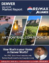 Denver Colorado Real Estate Market Report : REMAX Alliance